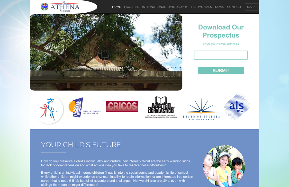 The Athena School - Private School Newtown, Sydney.
