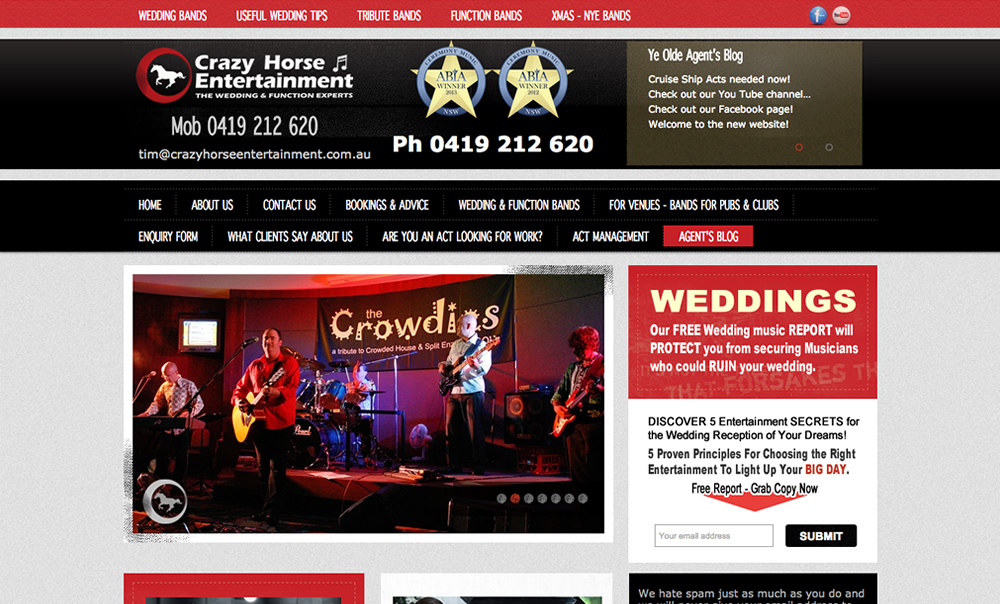 Crazy Horse Entertainment - The Wedding Entertainment Experts