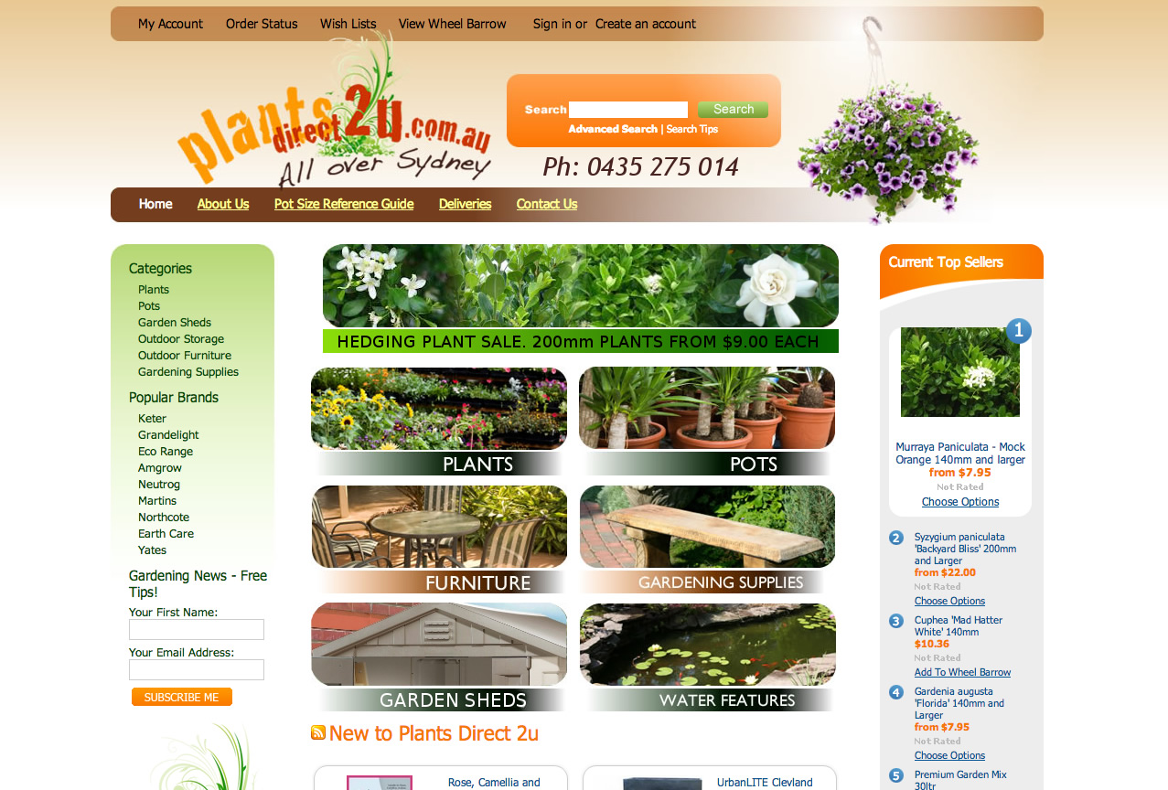 Plants Direct 2U - all over Sydney