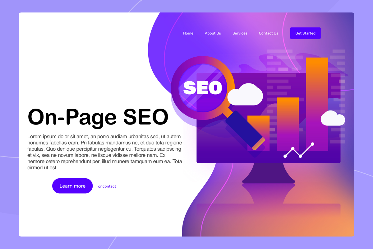 Screen showing fast on-page SEO.