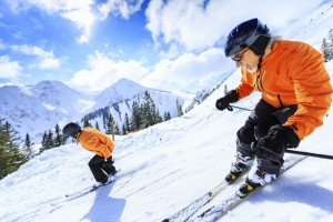 Skiiers as an example of how to speed up your website.
