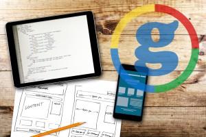 Designing a website for SEO.