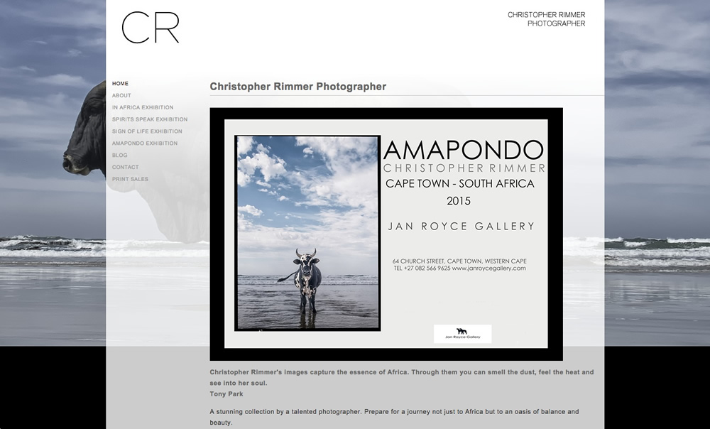 Christopher Rimmer - Photographer