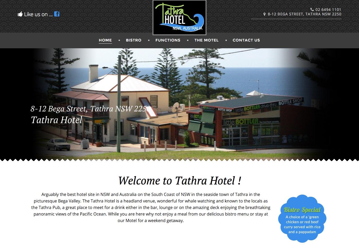 Tathra hotel.